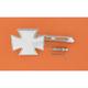 Maltese Cross Mirror-Air Glide Stem - 1901-6009