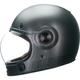Retro Matte Metallic Titanium Bullitt Helmet
