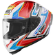 Red/Blue/White X-Fourteen Asail TC-10 Helmet