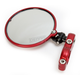 Red Left Hindsight Mirror - HSLS-302-L