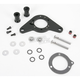 Black Carb Support Bracket and Breather Kit - DM-53B