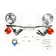 Steel Lightbar/Spotlight Kit - 04-0431A
