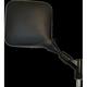 Black Left Hand DR Suzuki Style Universal Mirror - 20-78202