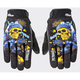 Black/Blue Artime Joe Destroy Gloves