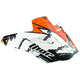 Orange Quadrant Fragment Visor Kit - 0132-0744