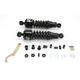 Black 412 Series American-Tuned Gas Shocks - 125/170 Spring Rate (lbs/in) - 412-4075B