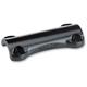 Black Dog Bone Handlebar Clamp - DB-350-SS-BK