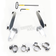 No-Tool Trigger-Lock Hardware Kits for Sportshield Windshield - MEK2000