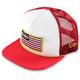 Red Stars and Bars 2 Hat - F35196109REDONZ