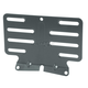 Black Steel License Plate Bracket - 13127