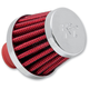 Red Crankcase Vent - Rubber Top 1/2 in. or 3/8 in. Hose - 62-1600RD