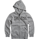 Youth Heather Graphite Legacy Zip Hoody