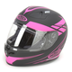 Black/Fushia Force FG-17 Helmet