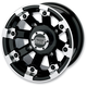 Black 393X Cast Aluminum ATV/UTV Wheel - 0230-0517