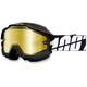 Black Accuri Snow Goggle w/Dual Mirror Gold Lens - 50213-061-02