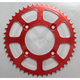 Red Aluminum Rear Sprocket - 1211-0658