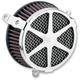 Chrome Spoke Air Cleaner Kit - 606-0103-04