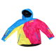 Youth Blue/Fuchsia/Yellow Vertical Jacket