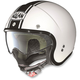 Metallic  White/Black N21 Caribe Helmet