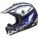 Youth Black/Blue/White GM46.2 Traxxion Helmet