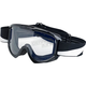 Bolts Moto Goggle - MG-BLT-WH-BK