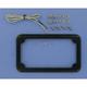 Beveled License Plate Frame w/Lights - CV-4616B
