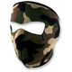 Woodland Camo Full Face Mask - WNFM118