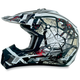 Youth Black/Red FX-17Y Trap Helmet