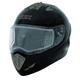 Black Tranz-E Modular Helmet