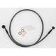 Black Pearl Designer Series Braided Custom Single-Disc Brake Lines