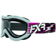 Fuchsia/White Recruit Storm Goggles - 2701