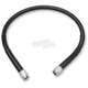 15 in. Black Vinyl-Coated Stainless Steel Brake Line - 1741-2704