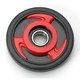 Red Idler Wheel w/Bearing - 4702-0026
