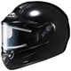 Black CL-16SN Helmet w/Electric Shield