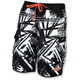 Black Splice Neo Boardshorts