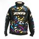 Cyan/Purple/Yellow/Black Strike Helix Jacket