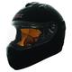 Matte Black RR702 Fog Helmet