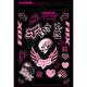 Fox Girls Sticker Sheet Kit - 14517-000