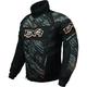 Black/Orange Helix Storm Jacket