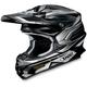 Black/Silver VFX-W Malice Helmet