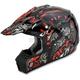 Black Red Shade FX-17 Helmet