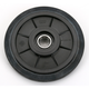 Black Idler Wheel w/Bearing - 4702-0064