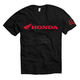 Black Honda Basic T-Shirt