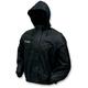 Womens Black Pro Action Rain Jacket