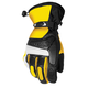 Yellow/Black Blitz Snowcross Gloves