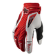 Red/White Platinum Race Gloves