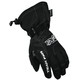 Black Cold Cross Gloves
