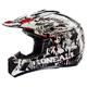 Black/White 3 Series Invader Helmet