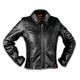 Womens Leather Braid Detail Jacket
