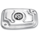 Chrome Cafe Front Brake Master Cylinder Cover - 0208-2035-CH